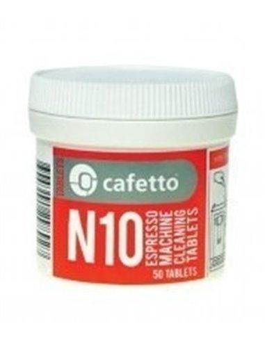 أقراص لتظيف آلة القهوة N10