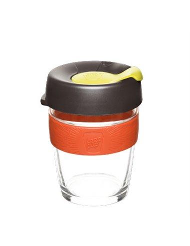 كوب كيب كب باللون البرتقالي و مقاس 12 اونص