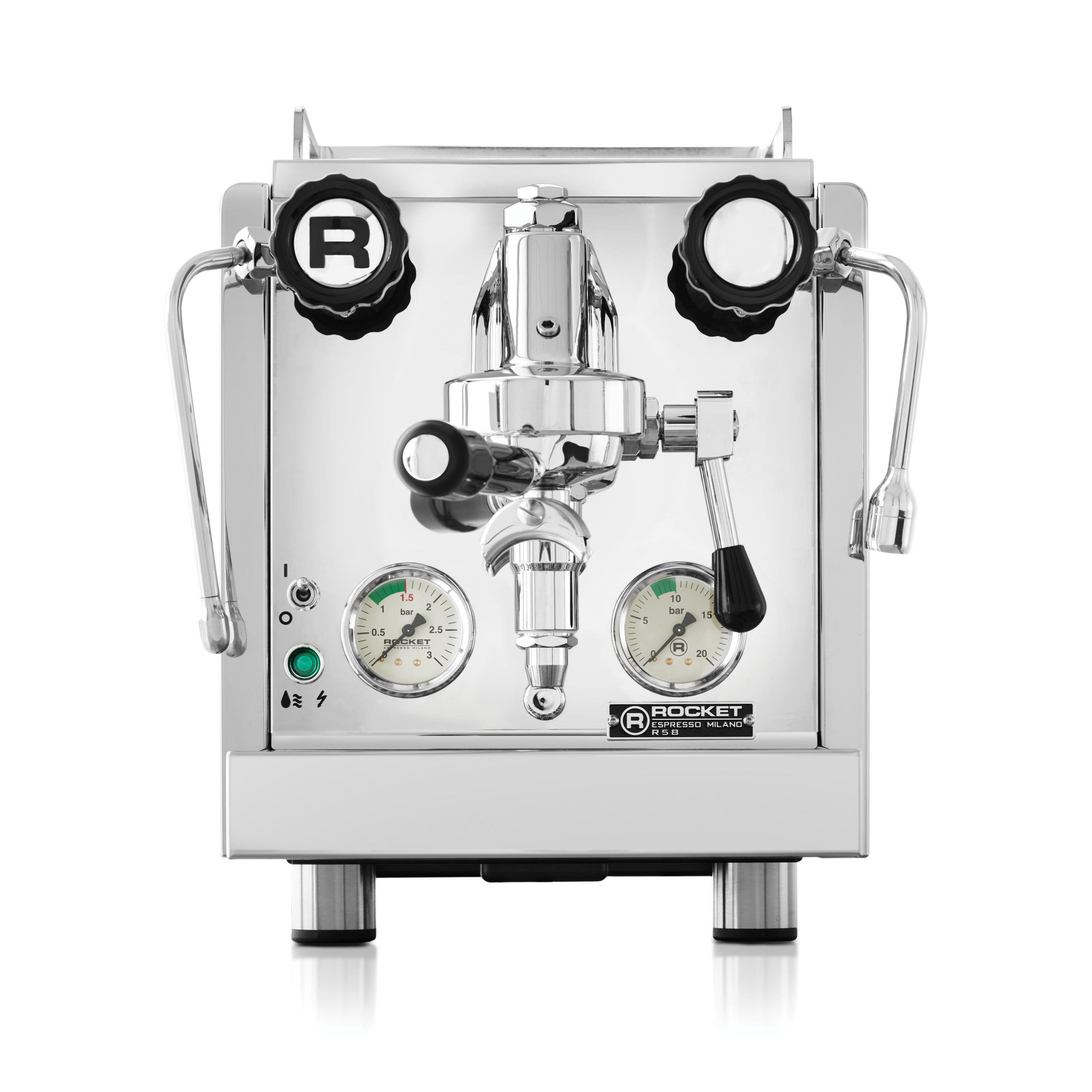 مستعمل روكيت R58 الإصدار الثاني آلة إسبريسو مزدوجة الغلاية